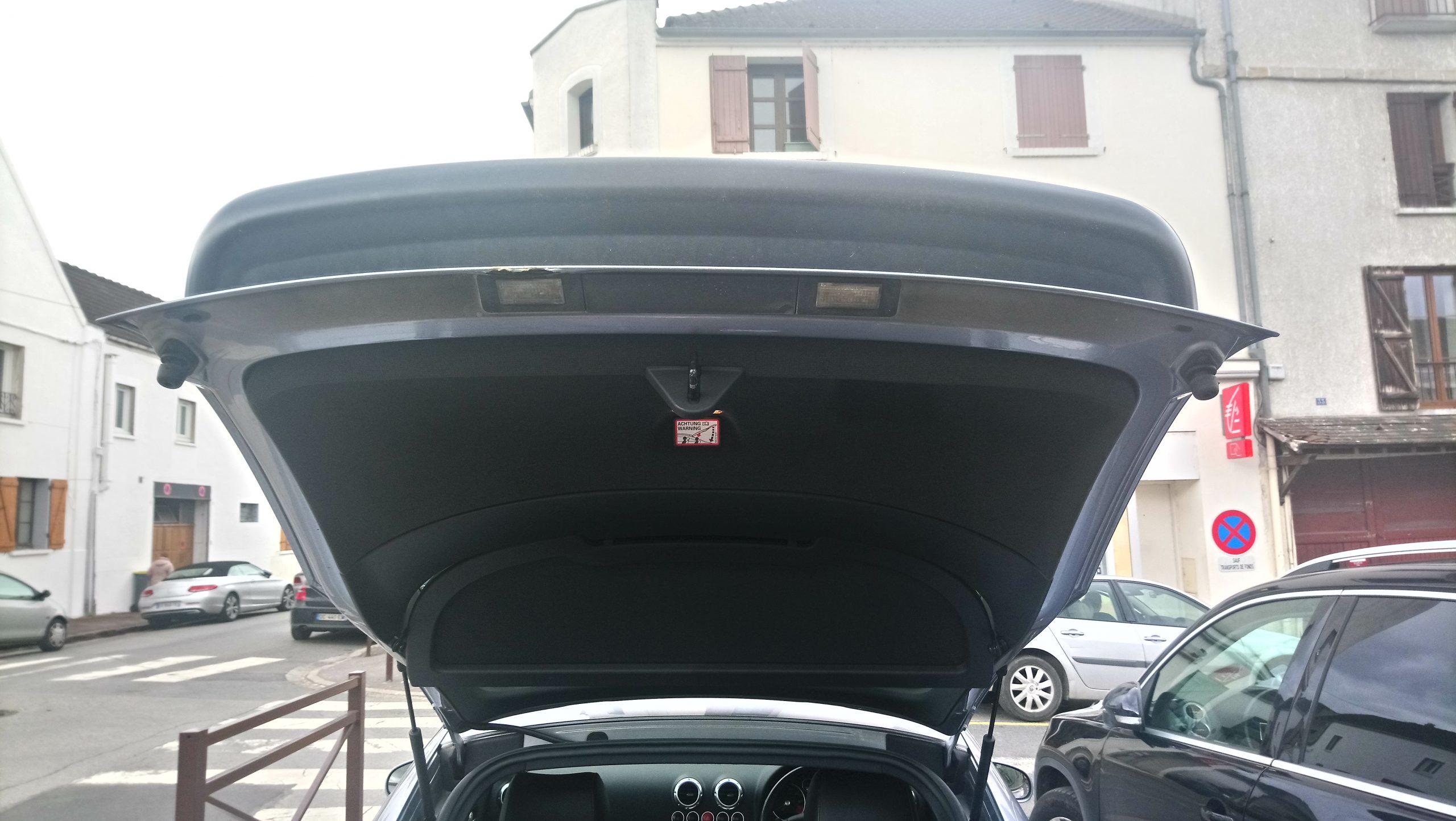 Malle arrière AUDI TT V6